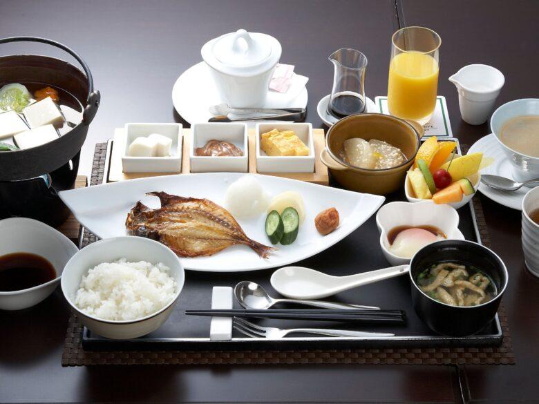 箱根「凛香」和朝食の写真