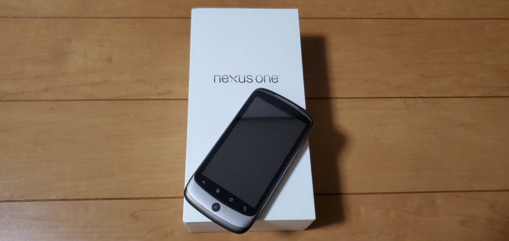 nexus oneの写真。