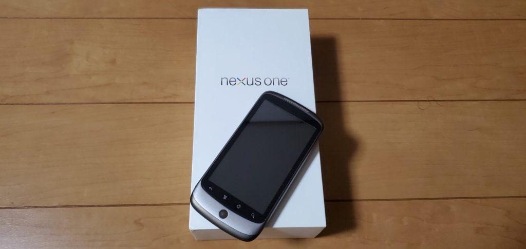 nexus oneの写真。