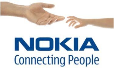 NOKIAのロゴです。