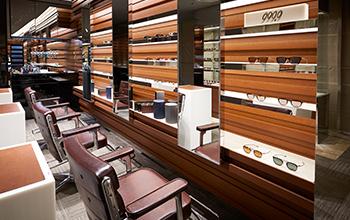 直営店舗:フォーナインズ 伊勢丹新宿店メンズ館のフィッティング専用スペース