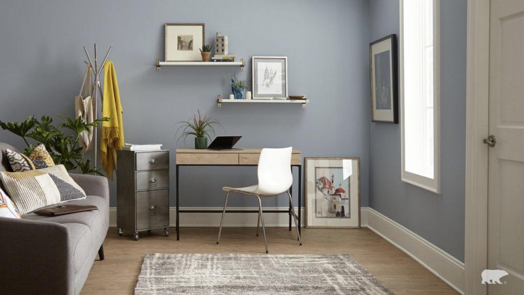 スタイリッシュな部屋のZoom背景画像。