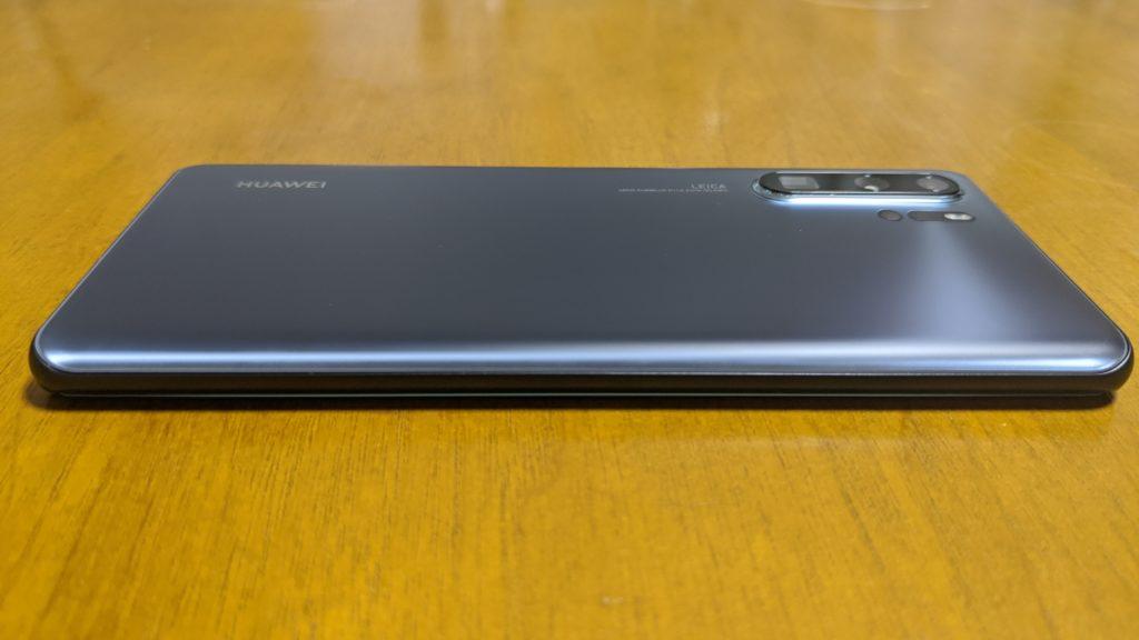 (偽)P30 Pro New Edition(フロストシルバー)外観写真3