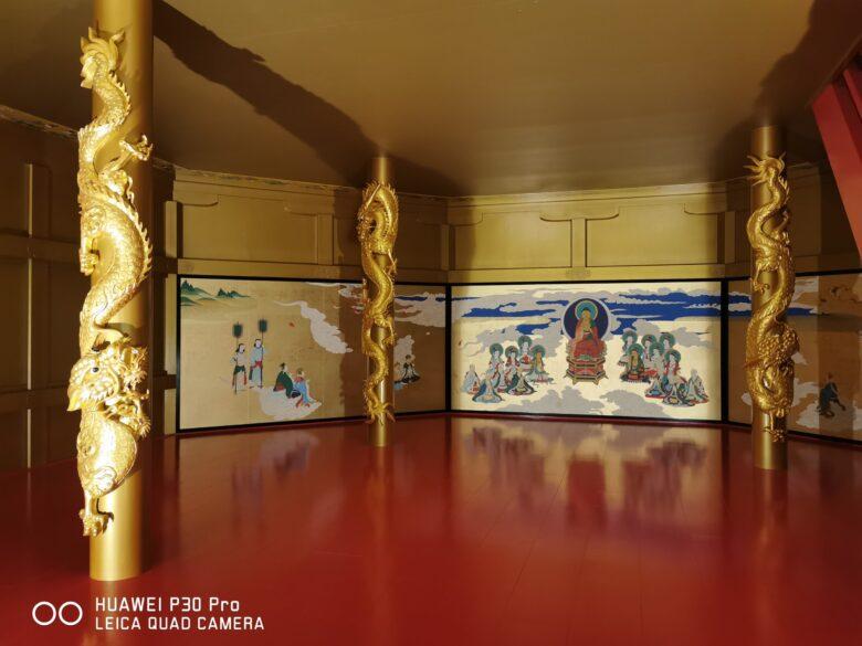 泰巖歴史美術館(博物館)の復元安土城天守閣の写真。その3。