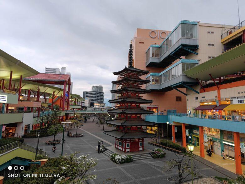 Xiaomi Mi11 Ultraで撮影した日中写真です。広角撮影。
