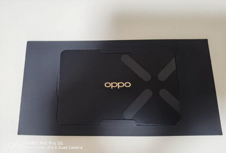 OPPO Find X3 Proのグローバル版(CPH2173)に同梱されているOPPO国際保証サービスに関するカード。