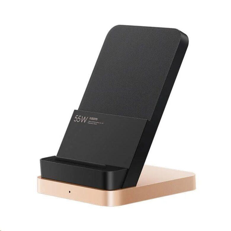 Xiaomi 55Wワイヤレス充電器の写真。