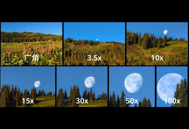 HUAWEI P50 Proの望遠写真のサンプル。